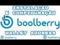 BOOLBERRY WALLET - INSTALAÇÃO E CONFIGURAÇÃO