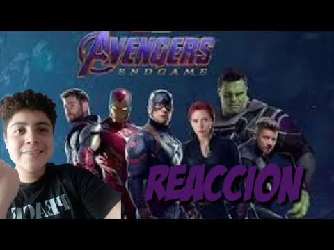 Reaccio Al Segundo Trailer AVENGERS THE END GAME
