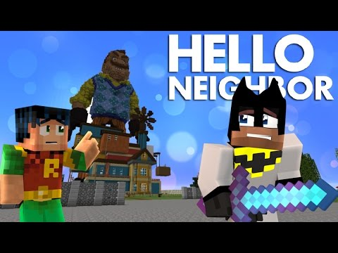 Minecraft: Hello Neighbor Builds his ALPHA 4 house? GIGA NEIGHBOR (Minecraft Roleplay)