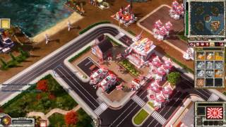 Command & Conquer Red Alert 3 Uprising Skirmish vs brutal AI