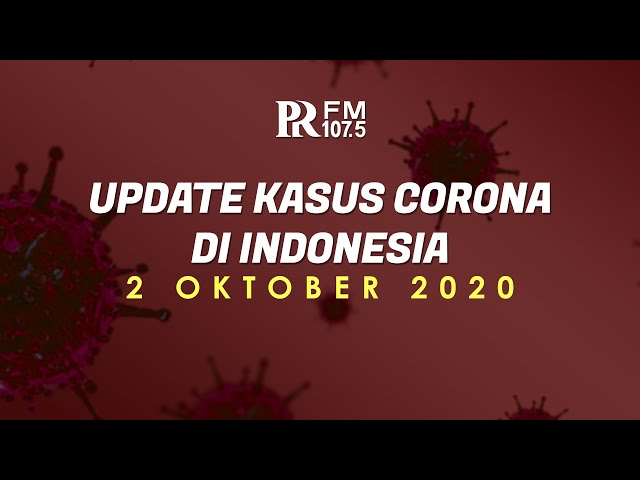 Update Kasus Corona di Indonesia 2 Oktober 2020