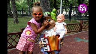 Алиса и Беби Бон на детской площадке. Автопутешествие Отдых в Геленджике 2016 День #22