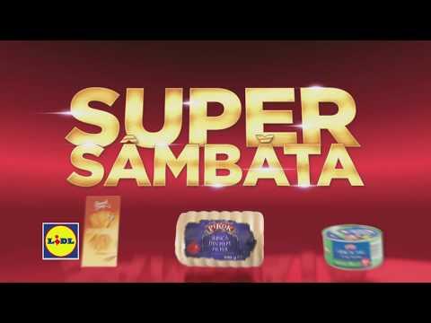 Super Sambata la Lidl • 2 Martie 2019