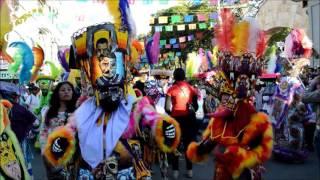 Encuentro Comparsas Jiutepec Morelos 2016 PreCarnaval Chinelos