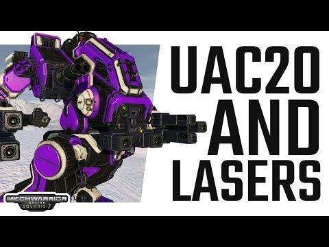 Ultra AC20 Revenant Mad Dog burst fighter - Solaris 7 - Mechwarrior Online The Daily Dose #492