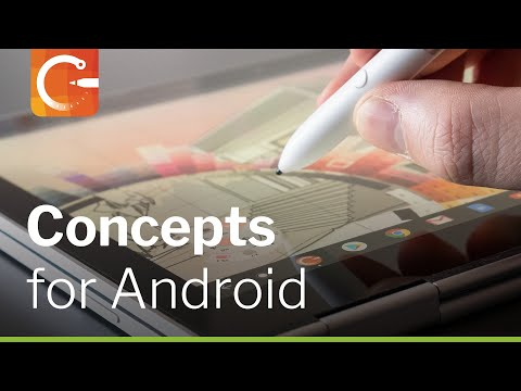 Concepts Sketching App for Android and Chrome OS