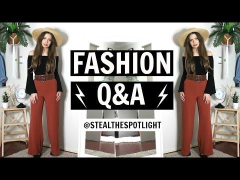 Fashion Advice | Styling Q&A