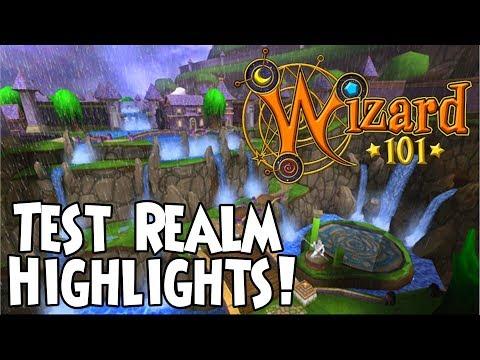Wizard101 - Test Realm Highlights! (Updates) - Kyle IceWielder