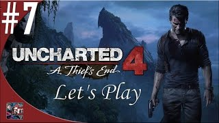 Uncharted 4: A Thief's End Walkthrough (Let's Play) Part 7 -