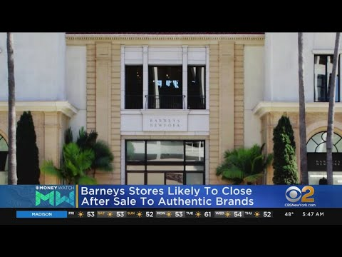 Barneys Sale Likely Means Stores Closing