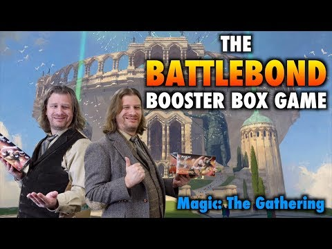 MTG - Let's play the BattleBond Booster Box Game for Magic: The Gathering