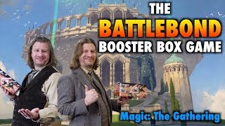 mtg lets play the battlebond booster box game for magic the gathering