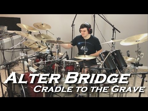 Alter Bridge - Cradle to the Grave (Chipmunk Drum Cover by JD)