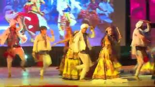 garba performance winner on mara maan pankhida tu udi jaje at parul university
