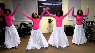 """Glorious"" by Martha Munizzi Praise Dance"