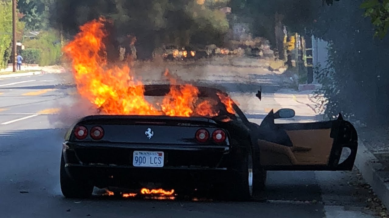 An Engine Fire Destroyed My Ferrari F355 Youtube