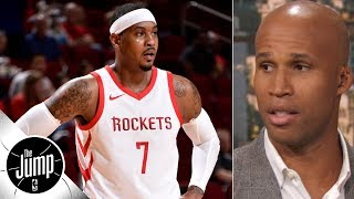Richard Jefferson: Carmelo Anthony should start his