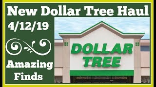 New Dollar Tree Haul 🤑 4/12/19 Amazing Finds and pictures at the end.