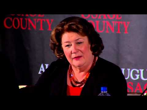 August: Osage County Press Conference Part 3 of 4