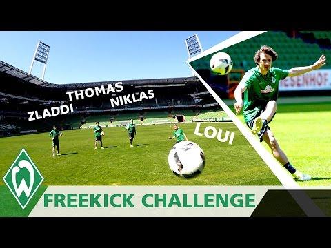FREEKICK CHALLENGE 1: Zlatko Junuzovic | Thomas Delaney | Niklas Schmidt | Loui Eta