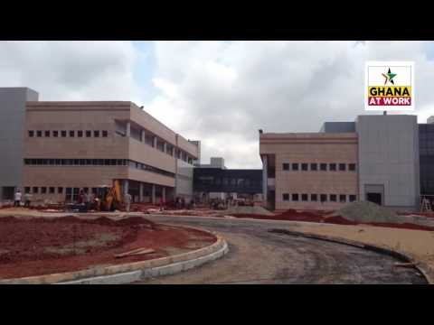 GHANA AT WORK: The 617-bed University of Ghana (Legon) Teaching Hospital