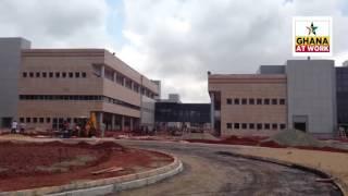 GHANA AT WORK: The 617-bed University of Ghana (Legon) Teaching Hospital