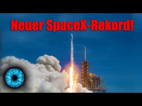 Neues Zeitalter der Raumfahrt eingeläutet! Neuer SpaceX-Rekord! - Clixoom Science & Fiction