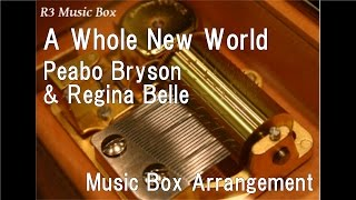 "A Whole New World/Peabo Bryson & Regina Belle [Music Box] (Disney Anime ""Aladdin"" Theme Song)"