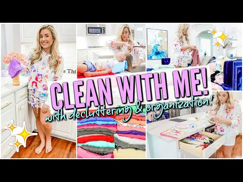 2020 ULTIMATE CLEAN WITH ME | CLEANING MUSIC | DECLUTTER + HOME ORGANIZATION MOTIVATION | Love Meg