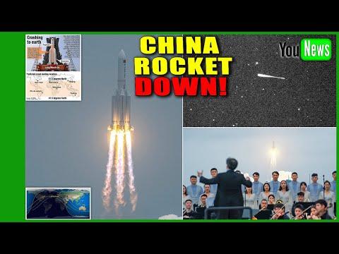 China rocket down! Beijing confirms space debris has crashed in Indian Ocean