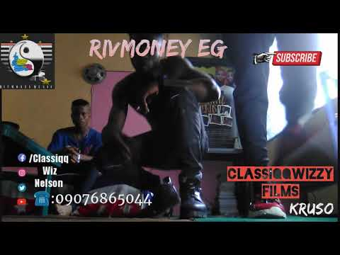 Classiqqwiz on a freestyle video with Erigga Where you dey since