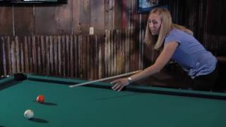 Professional Billiards Instructor, Jackie Karol, Pool Tip and Trick Shot #2