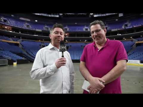 John Vogl & Mike Harrington discuss Sabres locker cleanout day