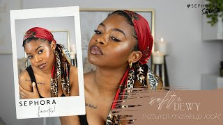 Soft, Dewy + Natural Makeup for Brown Skin [oily skin friendly!!] screenshot 5