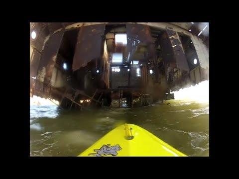 Visiting California shipwrecks by kayak