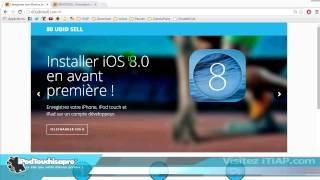 Information importante concernant l'iOS 8 !