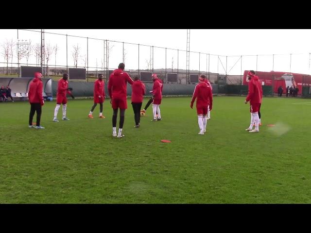 Demir Grup Sivasspor´umuz Beşiktaş Maçına Hazır