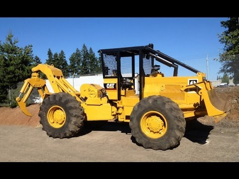 1987 Caterpillar 518 Log Skidder For Sale sn# 95U01659