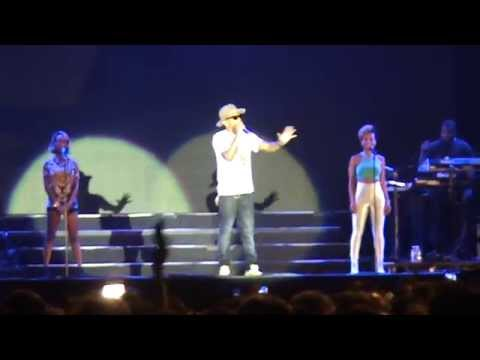 Pharrell Williams live at North Sea Jazz, Rotterdam 2014-07-11 (part 1)