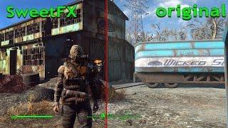 Fallout 4 как улучшить графику Fallout 4 SweetFX