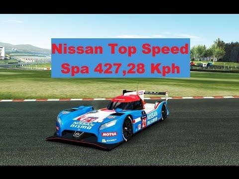 TC Top Speed Nissan SPA 427,28 Kph