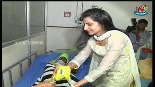 NTR Family Members Visit Basavatarakam Cancer Hospital | NTR's 23rd Vardhanthi | NTV Entertainment