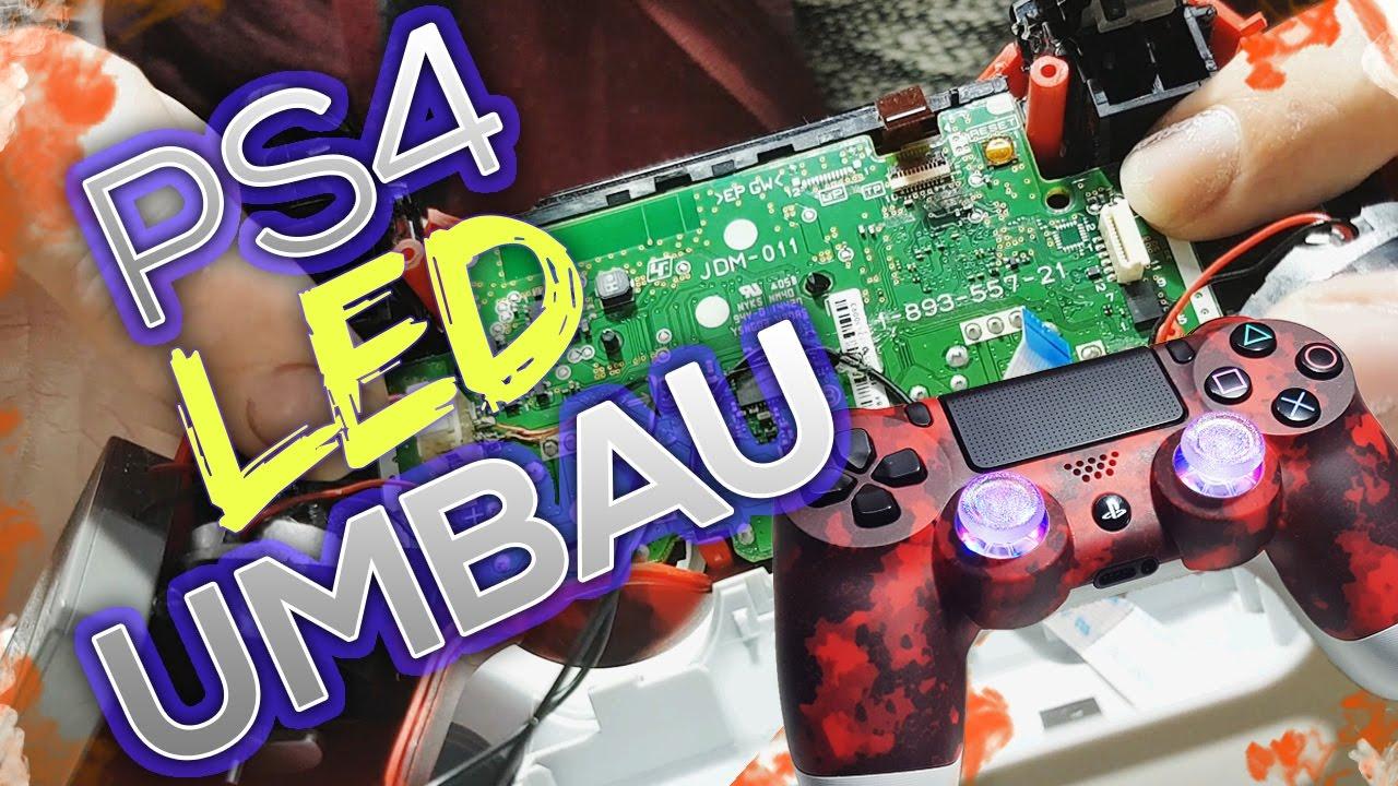 Ps4 Controller Led Mod Deutsch    Thumbstick Leds    Led