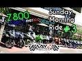 Z800 | Sunday Morning Ride #3 Ride to Sumarecon Mall Serpong | Layz Motor Team
