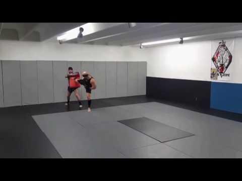 Lateral kick