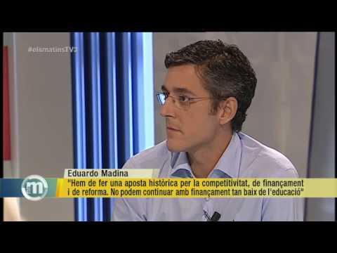 """TV3 - Els Matins - Madina: """"Les propostes dins del marc legal condueixen a l'esperança, les que no"""