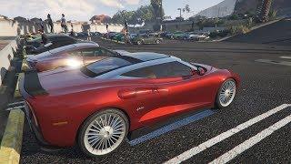 Livestream - GTA 5 - GRAND TOURING CAR MEET and Racing Playlist PS4