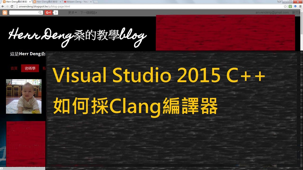 How to use clang 3 7 on Visual Studio 2015 C++