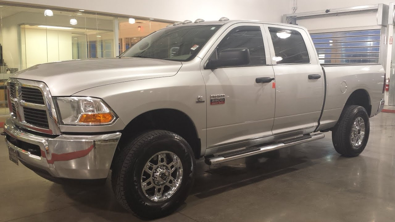 sold 2011 ram 2500 hd crew cab st 4x4 6 7 cummings 6spd manual 1 rh youtube com Truck Owners Manuals 2007 Sterling At950 Motorcraft Service Owners Manual