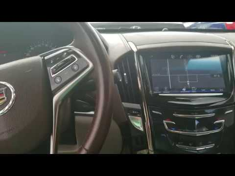 How to: Restart a Blacked out Radio on a 2013 Cadillac ATS if touch screen  is not working